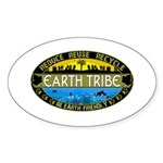 Earth Tribe Sticker (Oval 50 pk)