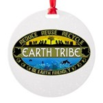 Earth Tribe Round Ornament