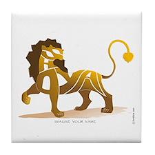 Shayan Lion 1 Tile Coaster