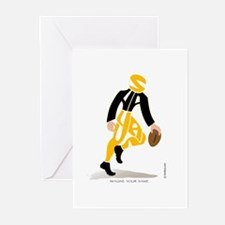 Shayan Football Player 1 Greeting Cards (Package o