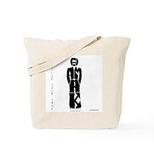 Siamak in Black Tote Bag