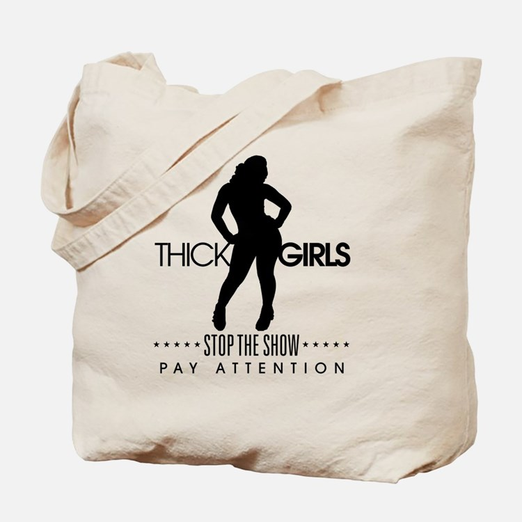 Thick Girls Tote Bag
