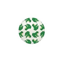 FROGS, FROGS... EVERYWHERE! Mini Button