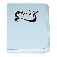 Cook Logo baby blanket