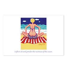 Pondering the Ocean Postcards (Package of 8)