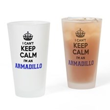 Cute Armadillos Drinking Glass