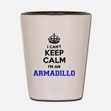 Cool Armadillos Shot Glass