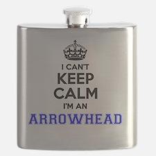 Cute Arrowhead Flask