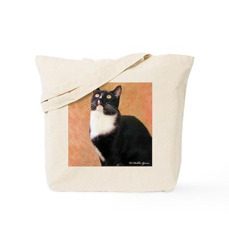 Curious Cat Tote Bag