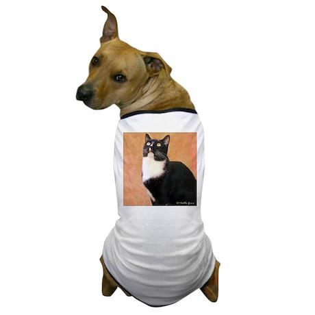 Curious Cat Dog T-Shirt