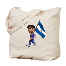 El Salvador Boy Tote Bag