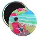 A Perfect Beach Day Magnet