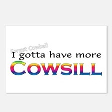 More Cowsill Rainbow Postcards (Package of 8)