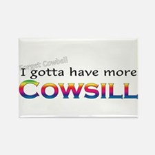 More Cowsill Rainbow Rectangle Magnet