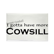 More Cowsill Rectangle Magnet