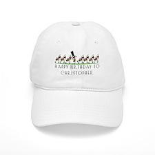 Happy Birthday Christopher (a Baseball Cap