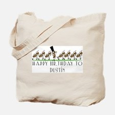 Happy Birthday Dustin (ants) Tote Bag