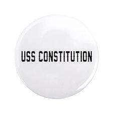 "USS Constitution 3.5"" Button"
