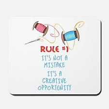 Rule #1 Mousepad