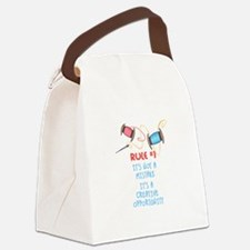Rule #1 Canvas Lunch Bag