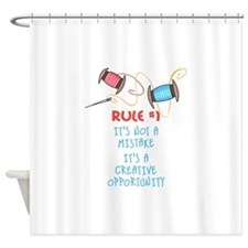 Rule #1 Shower Curtain