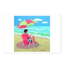 A Perfect Beach Day Postcards (Package of 8)