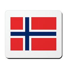 Norwegian Flag Mousepad