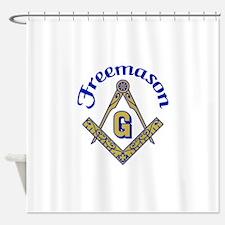 Freemason Shower Curtain