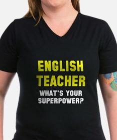 English Teacher Superp Shirt