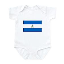 Nicaraguan Flag Infant Bodysuit