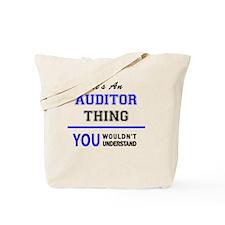 Cute Auditor Tote Bag