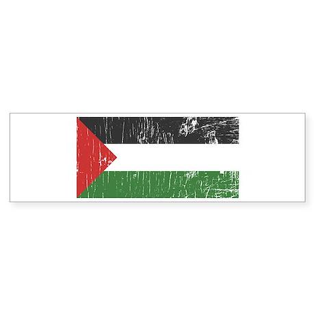 Vintage Palestine Bumper Sticker