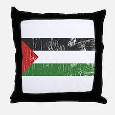 Vintage Palestine Throw Pillow
