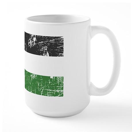 Vintage Palestine Large Mug