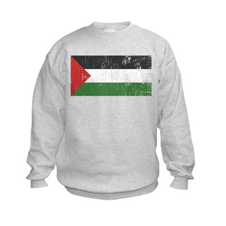 Vintage Palestine Kids Sweatshirt