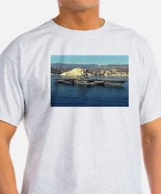USS Coral Sea Ship's Image T-Shirt
