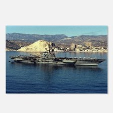 USS Coral Sea Ship's Image Postcards (Package of 8