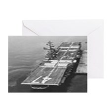 USS Philippine Sea Ship's Image Greeting Cards (Pk