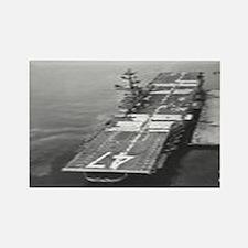 USS Philippine Sea Ship's Image Rectangle Magnet