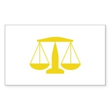 SCALES OF JUSTICE Decal