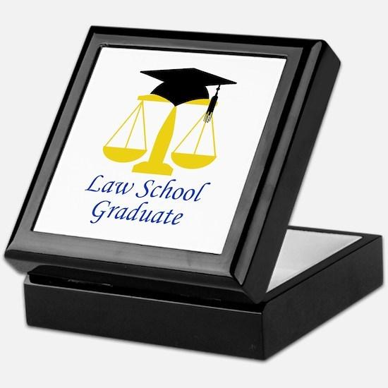Law School Graduate Keepsake Box