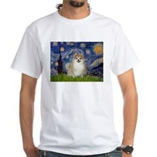 Starry Night & Pomeranian 1 Shirt