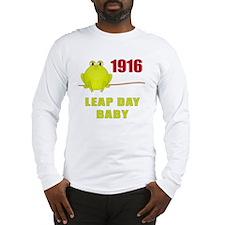 Leap Year 1916 Long Sleeve T-Shirt