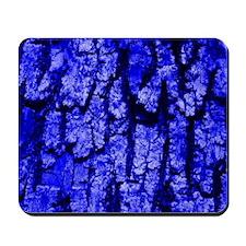 Tree Bark Structure,blue Mousepad