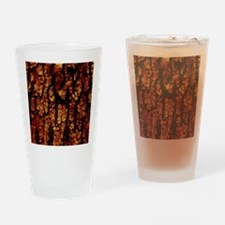 Tree Bark Structure,brown Drinking Glass