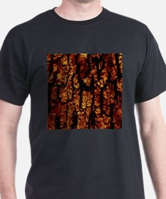 Tree Bark Structure,brown T-Shirt