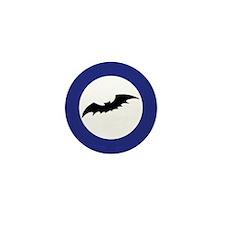 Bat Silhouette Mini Button (10 pack)