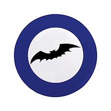 "Bat Silhouette 3.5"" Button (100 pack)"