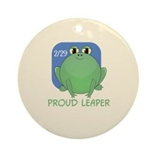 proudleaper-button.png Ornament (Round)