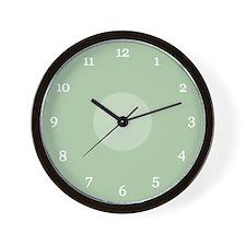 Sage Clock Wall Clock
